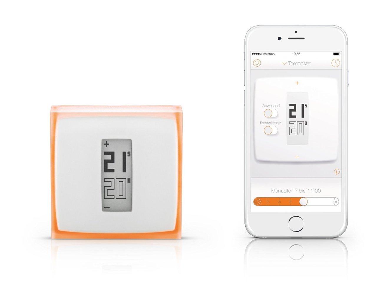 Netatmo Thermostat NTH01-DE-EC