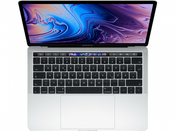 "Apple MacBook Pro 13"" (2019), 1,4 GHz i5, 8 GB , 256 GB SSD, Touch Bar, Silber"