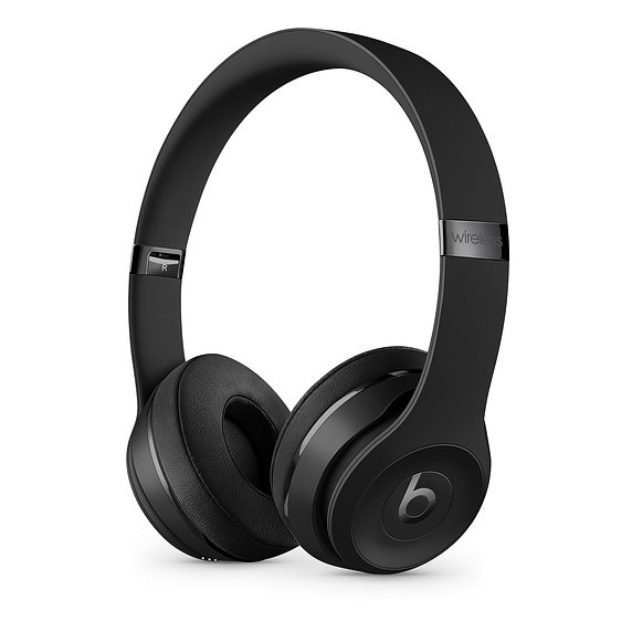 Beats Solo³ Wireless - The Beats Icon Collection Mattschwarz MX432ZM/A